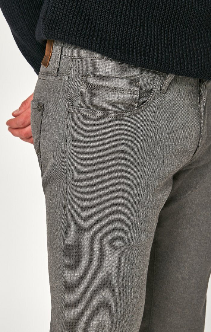 MARCUS SLIM STRAIGHT LEG IN GREY FEATHER TWEED - Mavi Jeans