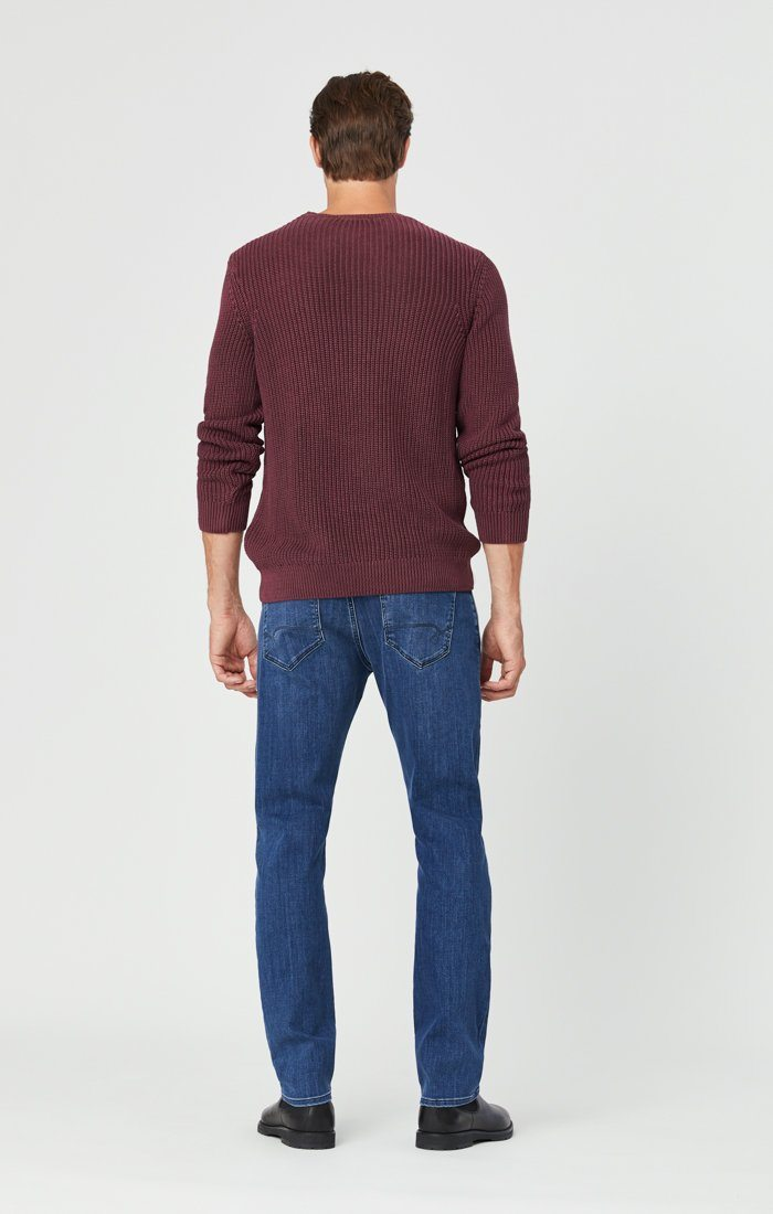 MARCUS SLIM STRAIGHT LEG JEANS IN MID SUPERMOVE Image 4