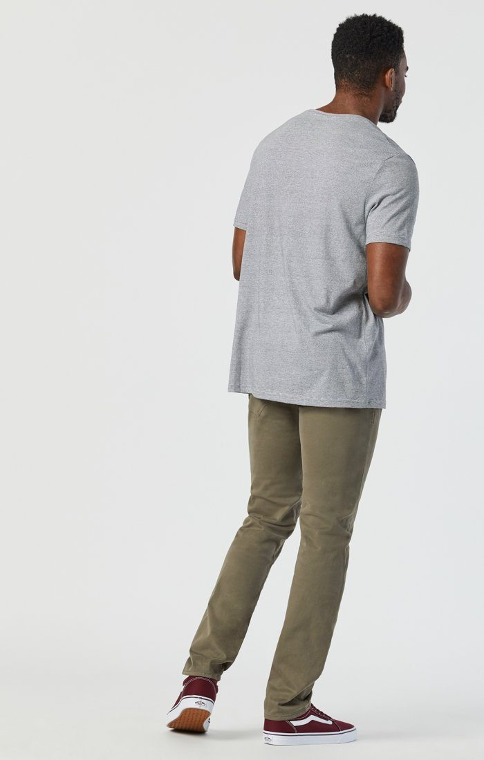 JAKE SLIM LEG IN DUSTY OLIVE TWILL Image 5