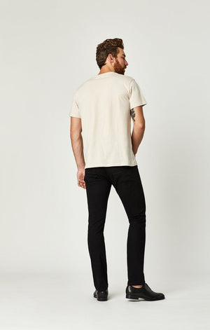 JAKE SLIM LEG IN BLACK WILLIAMSBURG - Mavi Jeans