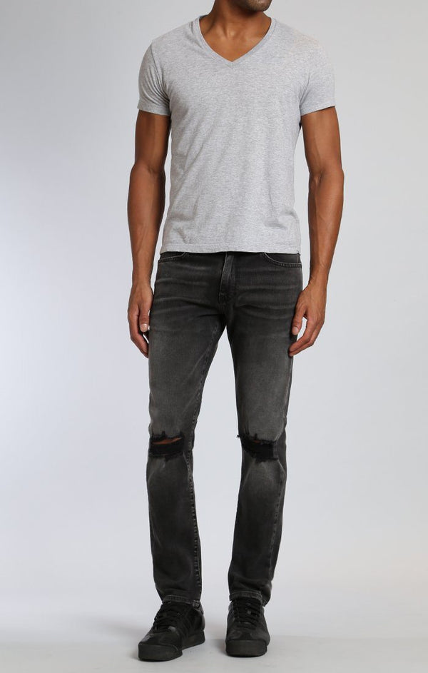 JAKE SLIM LEG IN MID GREY BROOKLYN - Mavi Jeans
