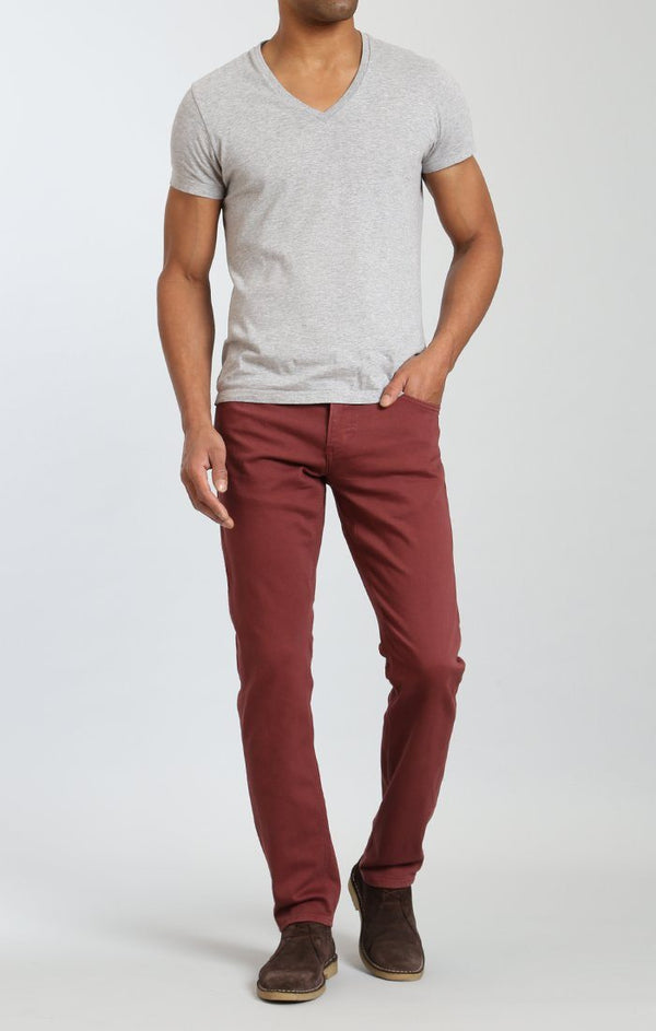 JAKE SLIM LEG IN ROSEWOOD WASHED COMFORT - Mavi Jeans