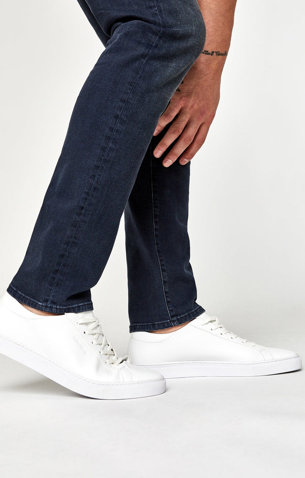 JAKE SLIM LEG IN SHADED BLUE WHITE EDGE - Mavi Jeans