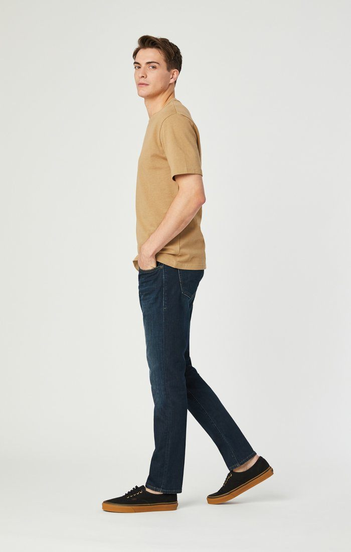 JAKE SLIM LEG IN DEEP BLUE GEORGETOWN - Mavi Jeans