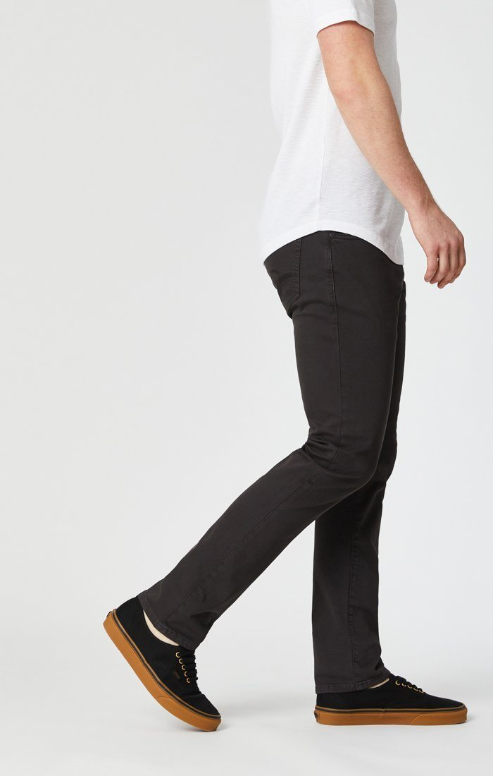 JAKE SLIM LEG IN DARK BROWN WASHED COMFORT Image 5