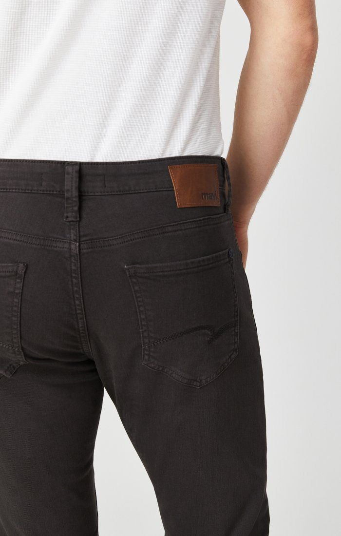 JAKE SLIM LEG IN DARK BROWN WASHED COMFORT Image 4
