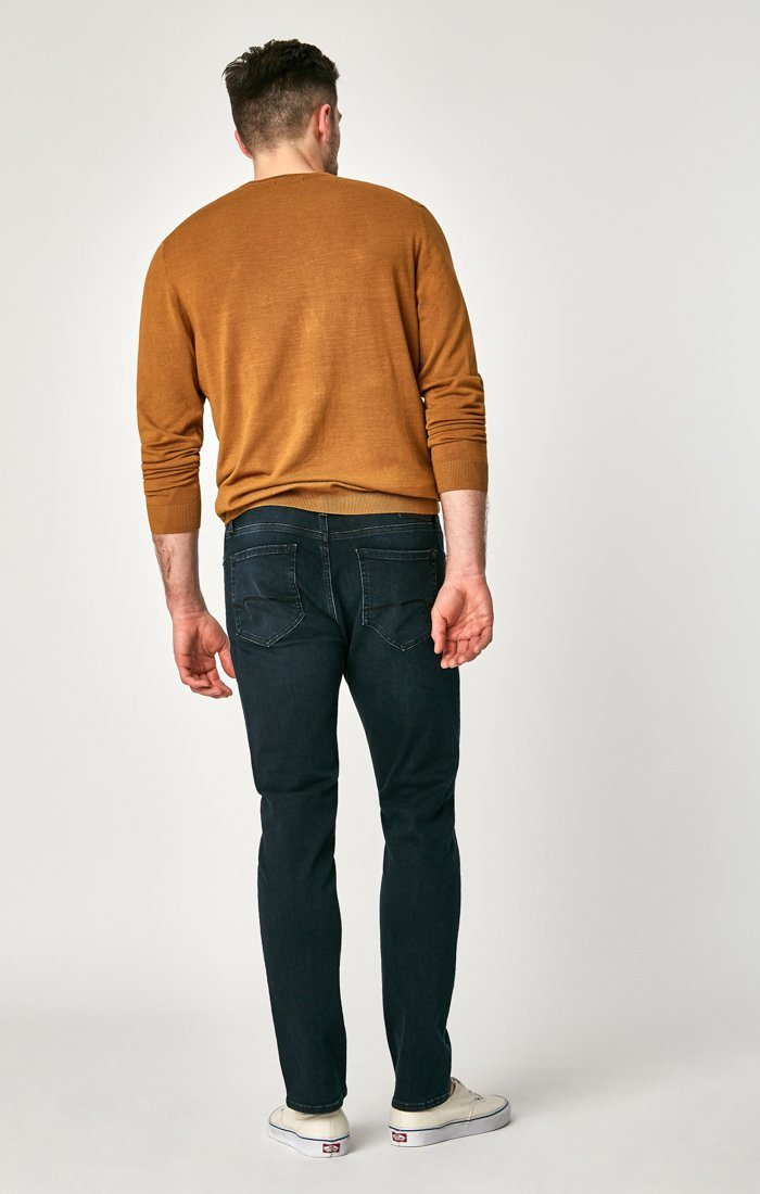 JAKE SLIM LEG IN DEEP BLUE-BLACK WILLIAMSBURG - Mavi Jeans
