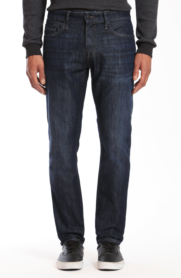 JAKE SLIM LEG IN DEEP TONAL MANHATTAN - Mavi Jeans