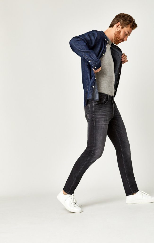 JAKE SLIM LEG IN SMOKE SPORTY - Mavi Jeans