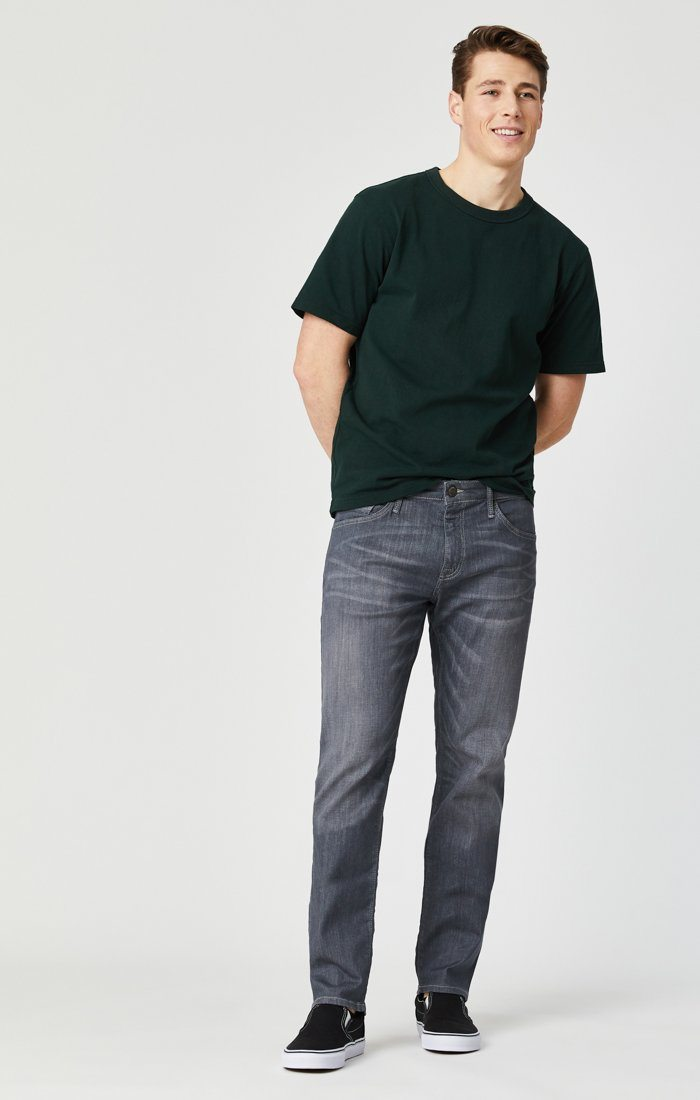 JAKE SLIM LEG IN LIGHT GREY WILLIAMSBURG - Mavi Jeans