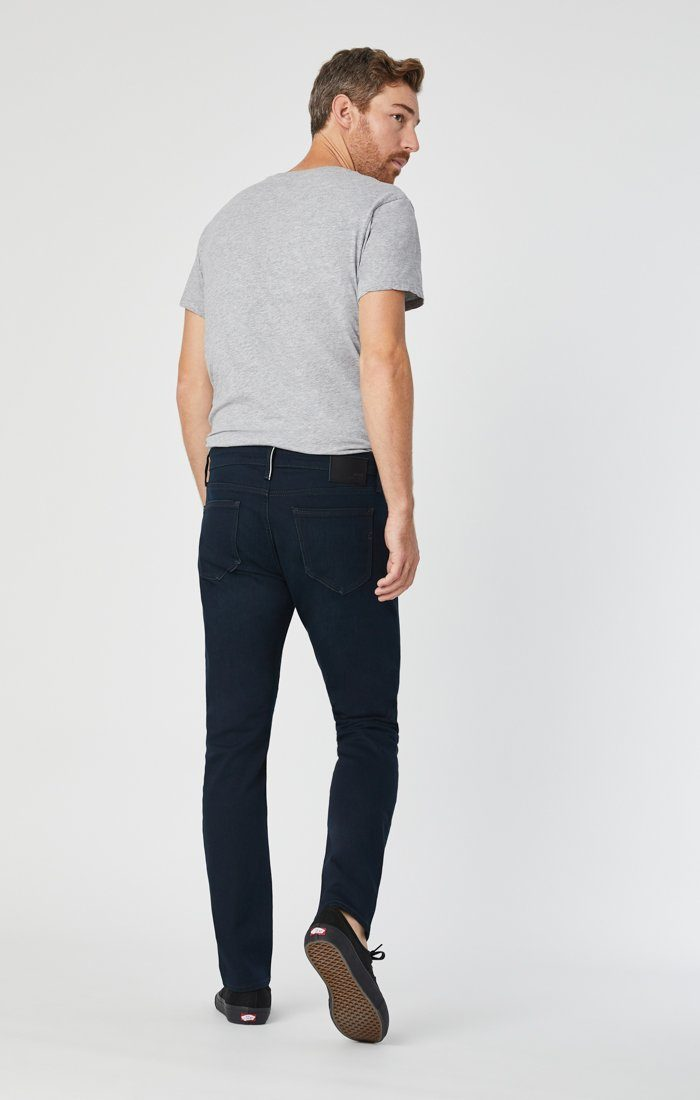 JAKE SLIM LEG IN INK WHITE EDGE - Mavi Jeans