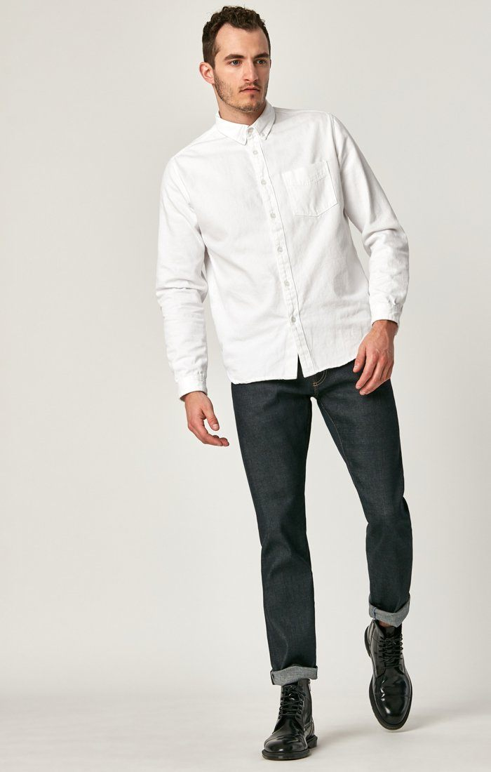 JAKE SLIM LEG IN DEEP REAL SELVEDGE - Mavi Jeans