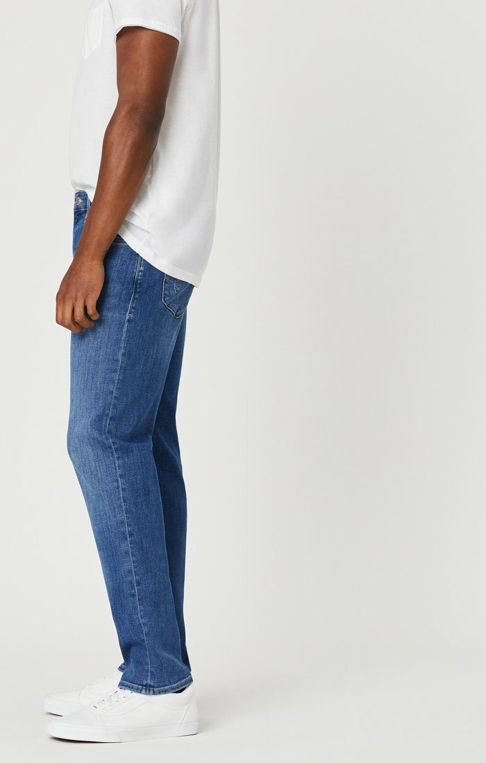 JAKE SLIM LEG JEANS IN LIGHT FEATHER BLUE Image 6