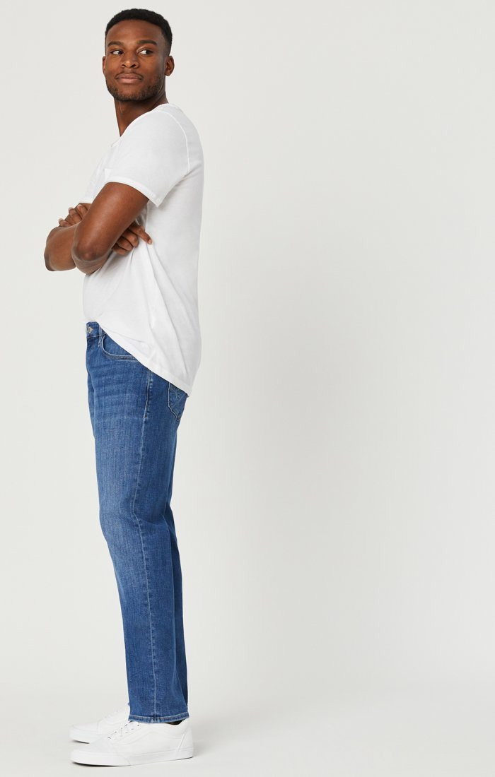 JAKE SLIM LEG JEANS IN LIGHT FEATHER BLUE Image 7