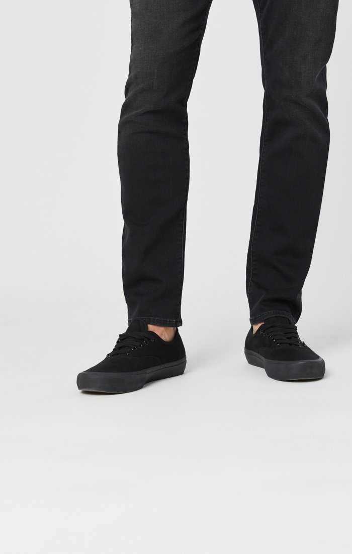JAKE SLIM LEG JEANS IN DARK SMOKE ATHLETIC Image 8