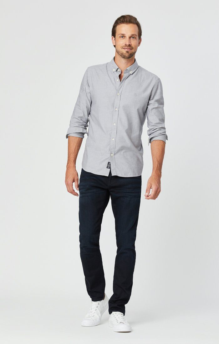 JAKE SLIM LEG JEANS IN DARK INDIGO WILLIAMSBURG Image 2