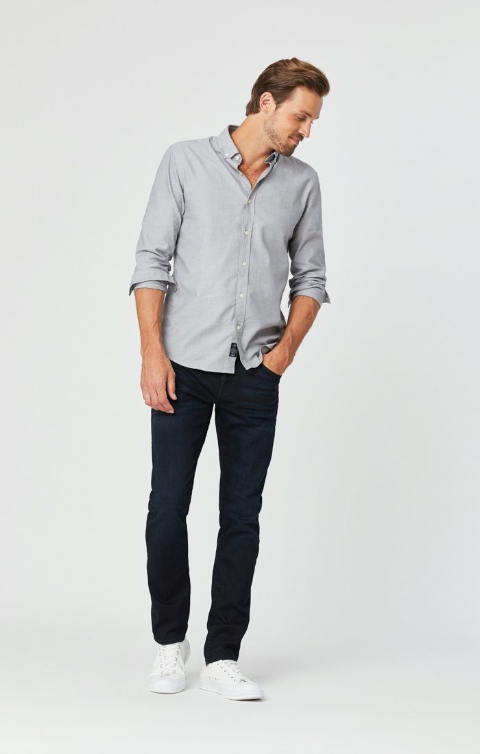 JAKE SLIM LEG JEANS IN DARK INDIGO WILLIAMSBURG Image 3
