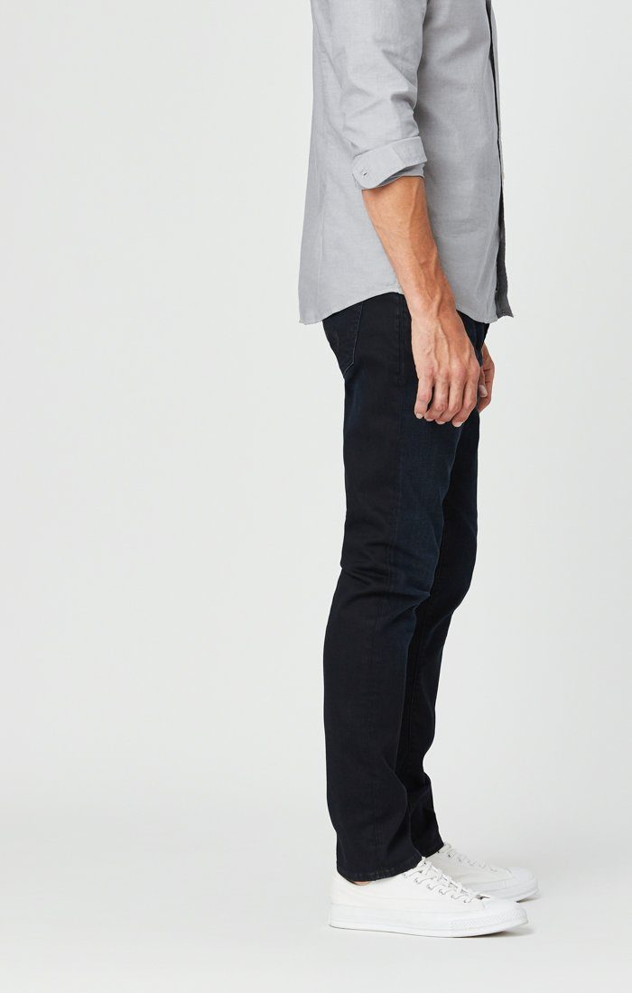 JAKE SLIM LEG JEANS IN DARK INDIGO WILLIAMSBURG Image 4