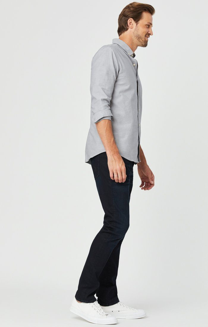JAKE SLIM LEG JEANS IN DARK INDIGO WILLIAMSBURG Image 5