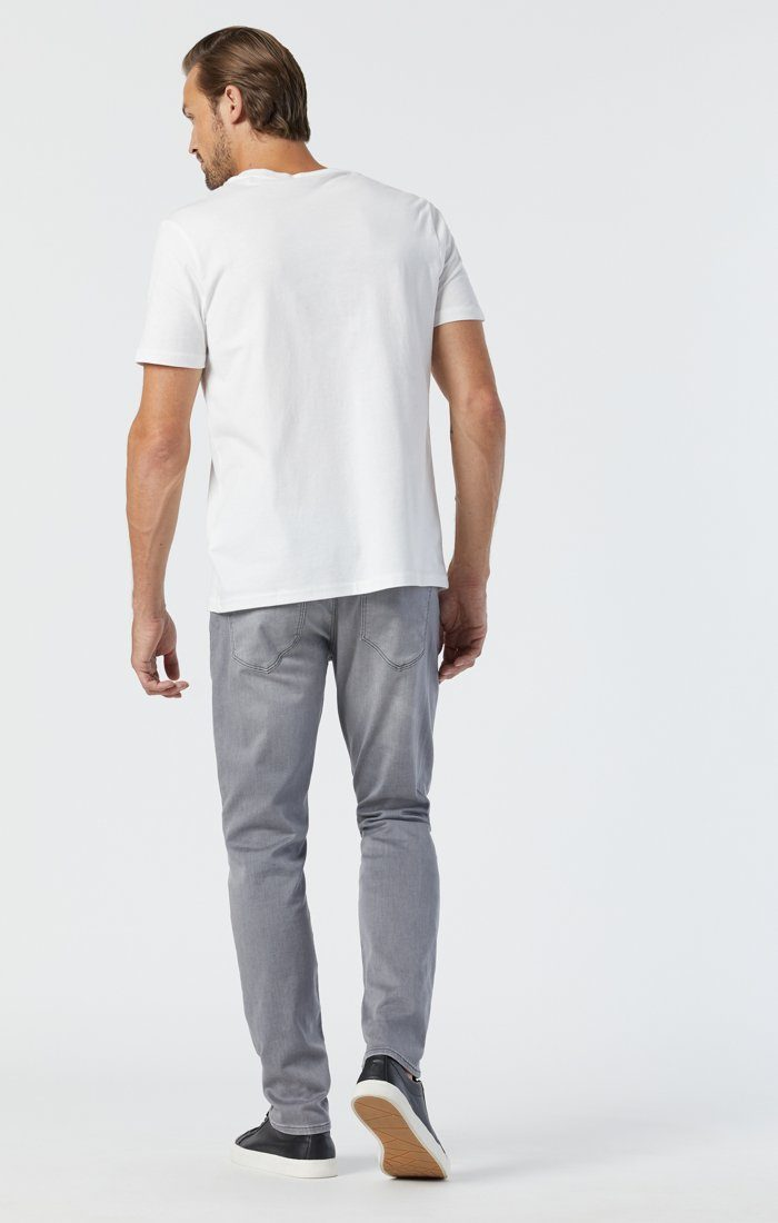 JAKE SLIM LEG IN LIGHT GREY ATHLETIC Image 4