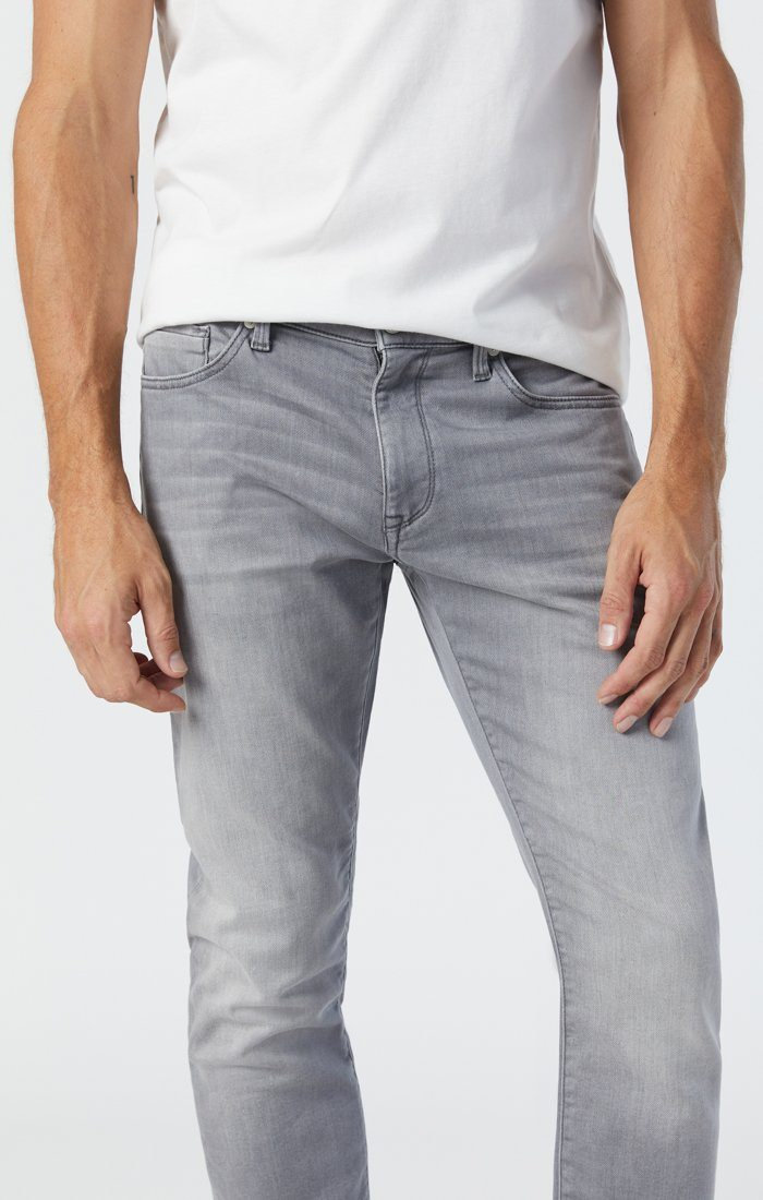 JAKE SLIM LEG IN LIGHT GREY ATHLETIC Image 6