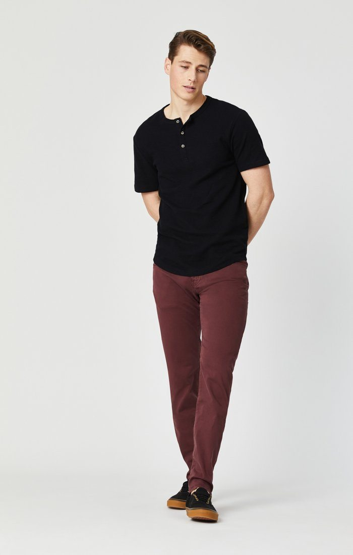 JAMES SKINNY IN DECADENT CHOCO TWILL Image 1