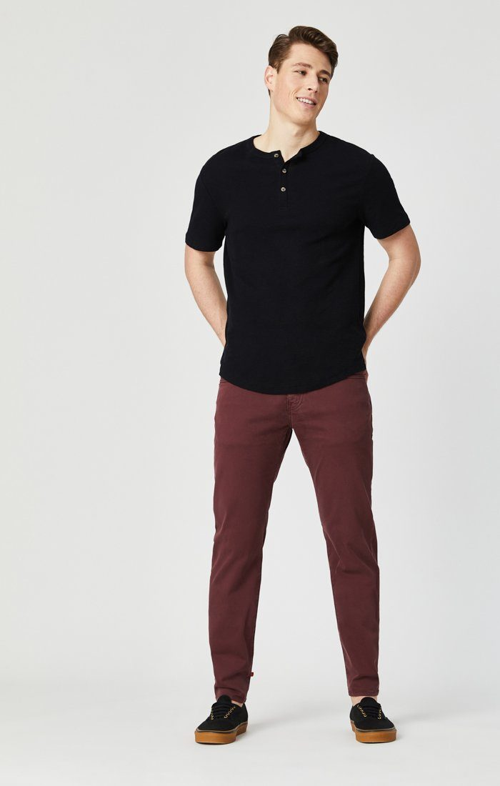 JAMES SKINNY IN DECADENT CHOCO TWILL Image 3