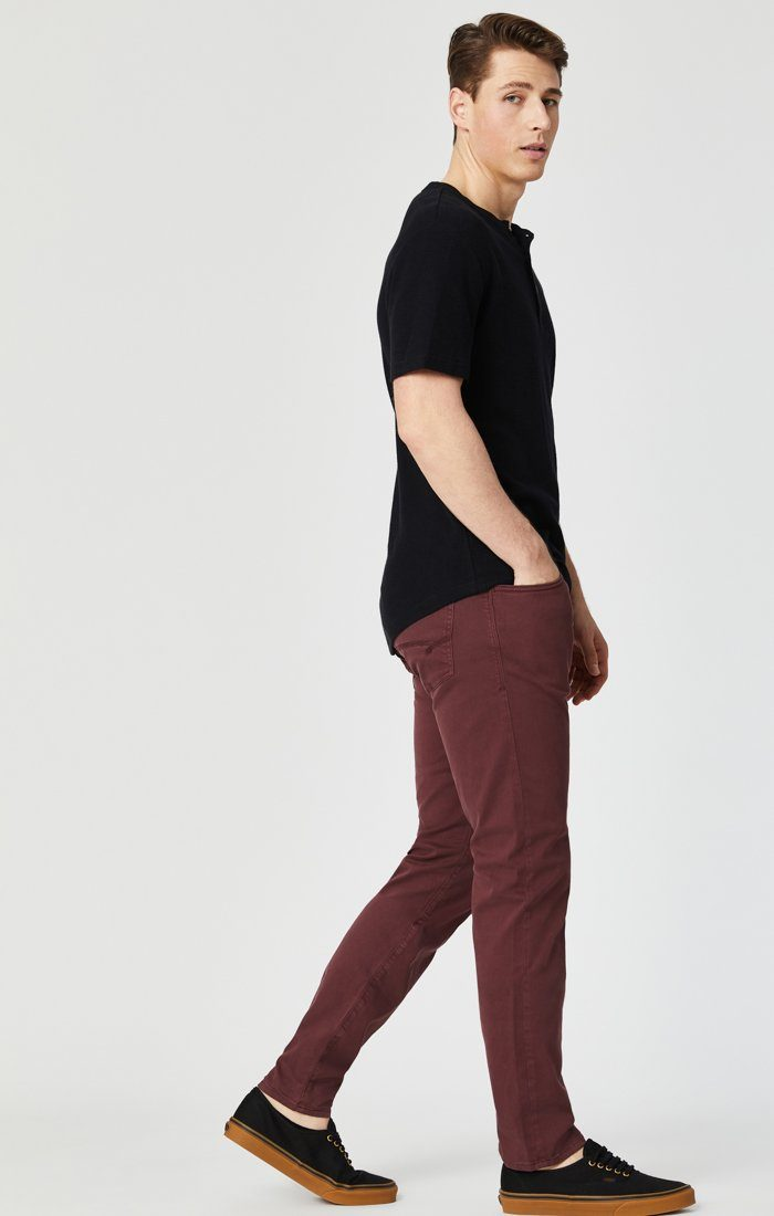 JAMES SKINNY IN DECADENT CHOCO TWILL Image 5
