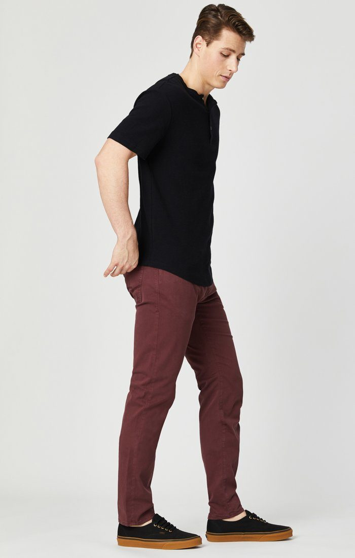 JAMES SKINNY IN DECADENT CHOCO TWILL Image 7