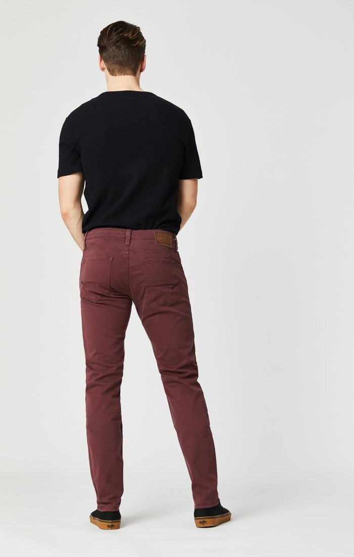 JAMES SKINNY IN DECADENT CHOCO TWILL Image 4
