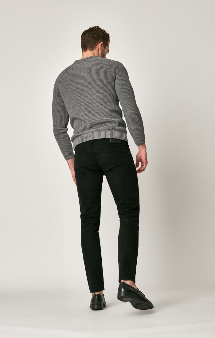 JAMES SKINNY IN BLACK BROOKLYN - Mavi Jeans