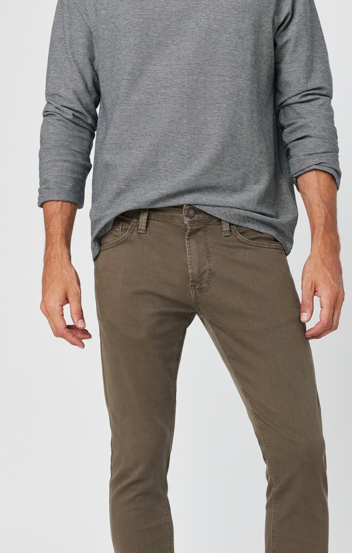 JAMES SKINNY IN KHAKI WASHED COMFORT Image 2