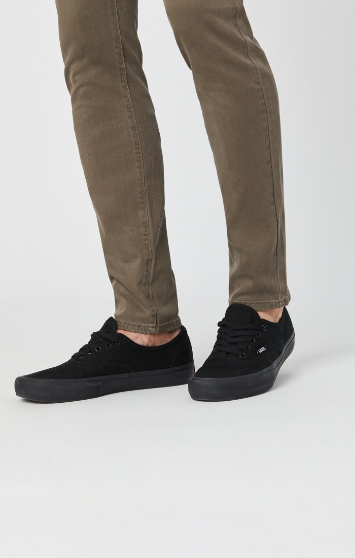 JAMES SKINNY IN KHAKI WASHED COMFORT Image 6