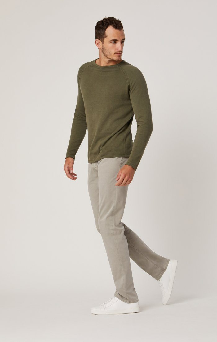 ZACH STRAIGHT LEG IN GREY TWILL Image 2