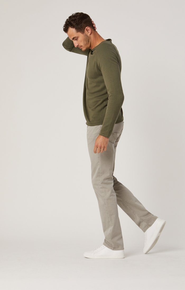 ZACH STRAIGHT LEG IN GREY TWILL Image 1