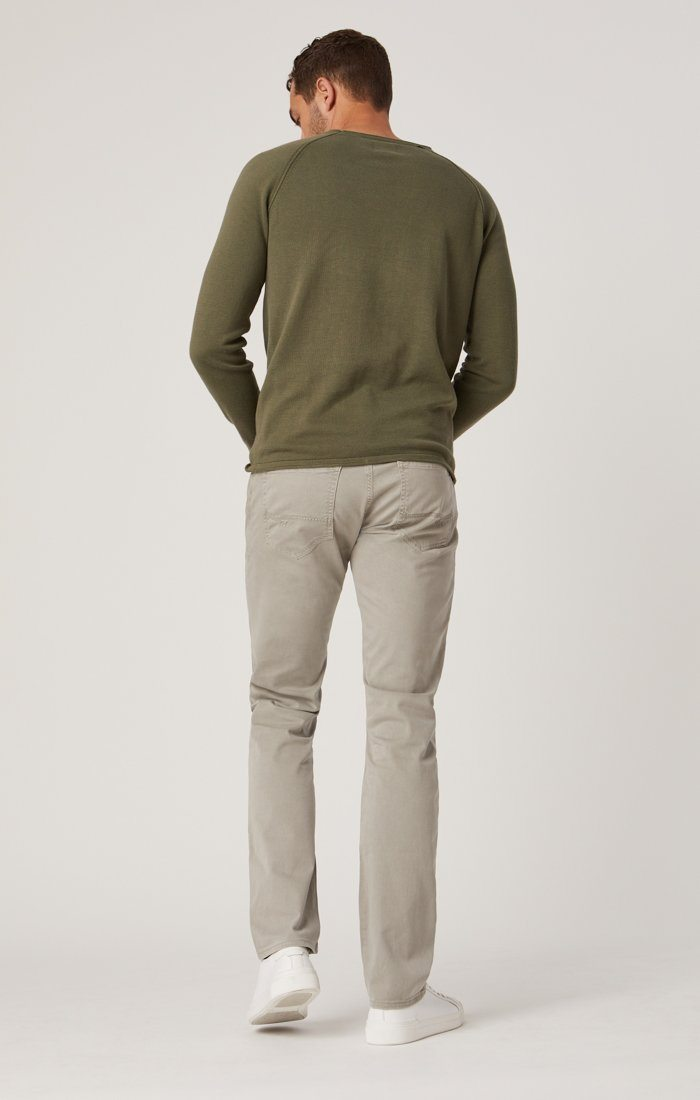 ZACH STRAIGHT LEG IN GREY TWILL Image 4