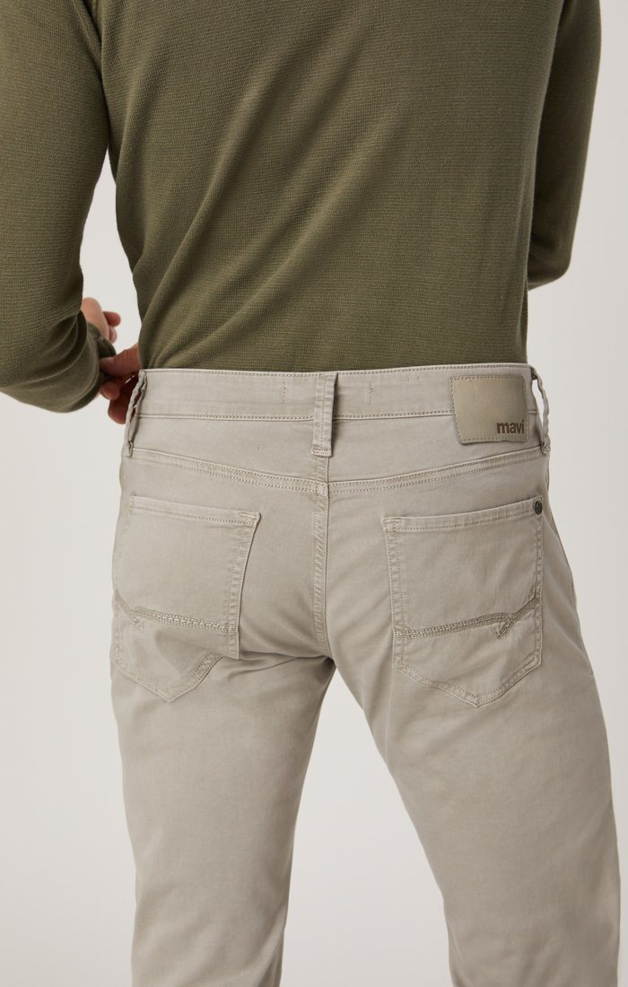 ZACH STRAIGHT LEG IN GREY TWILL Image 5
