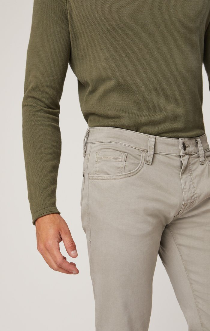 ZACH STRAIGHT LEG IN GREY TWILL Image 3