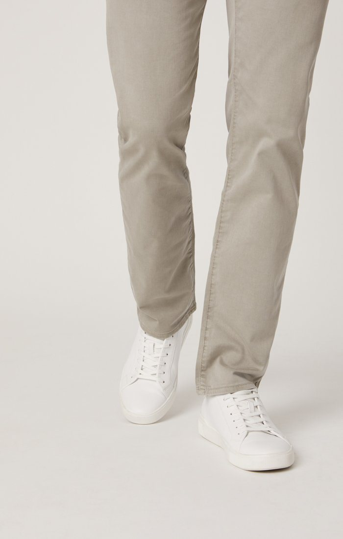 ZACH STRAIGHT LEG IN GREY TWILL Image 6