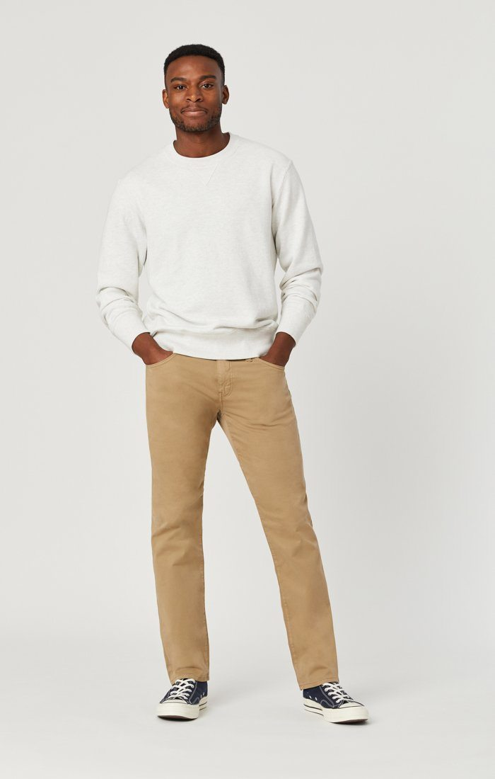 ZACH STRAIGHT LEG IN BRITISH KHAKI TWILL Image 3