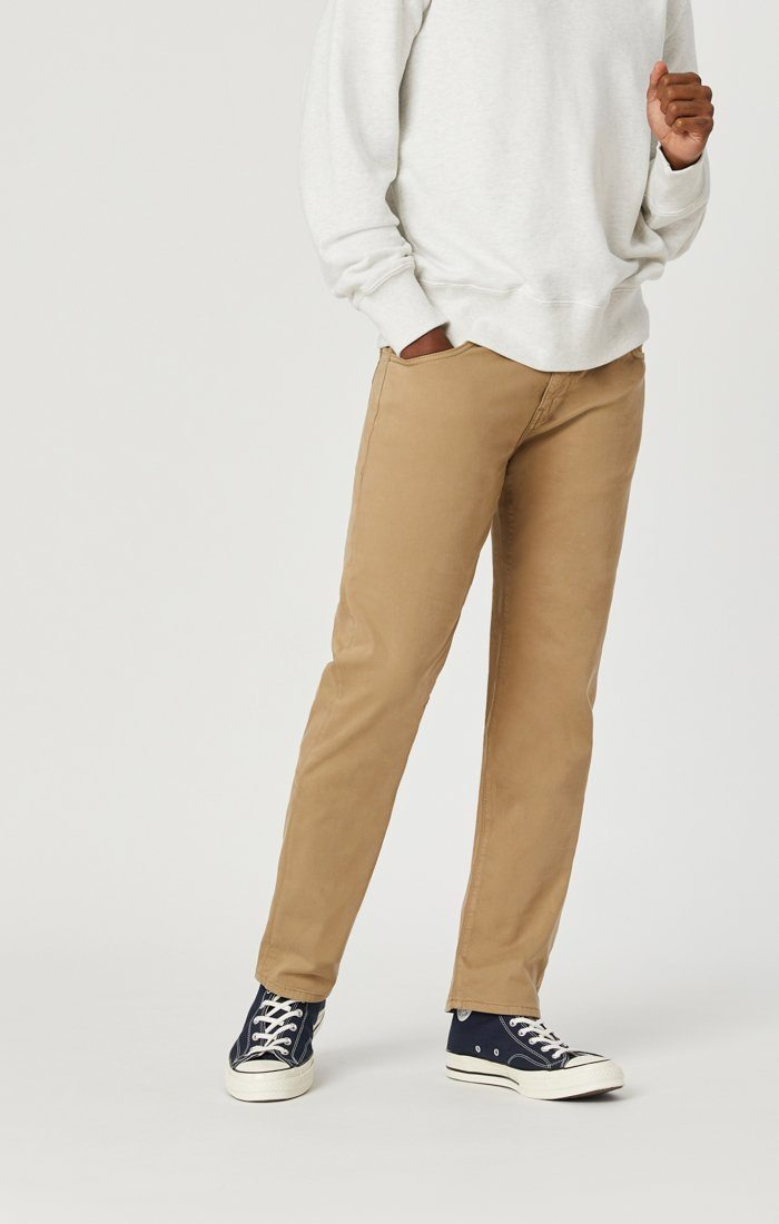 ZACH STRAIGHT LEG IN BRITISH KHAKI TWILL Image 4