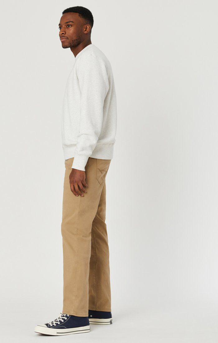 ZACH STRAIGHT LEG IN BRITISH KHAKI TWILL Image 5