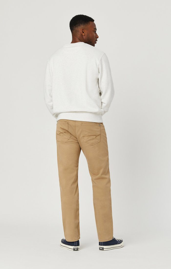 ZACH STRAIGHT LEG IN BRITISH KHAKI TWILL Image 7