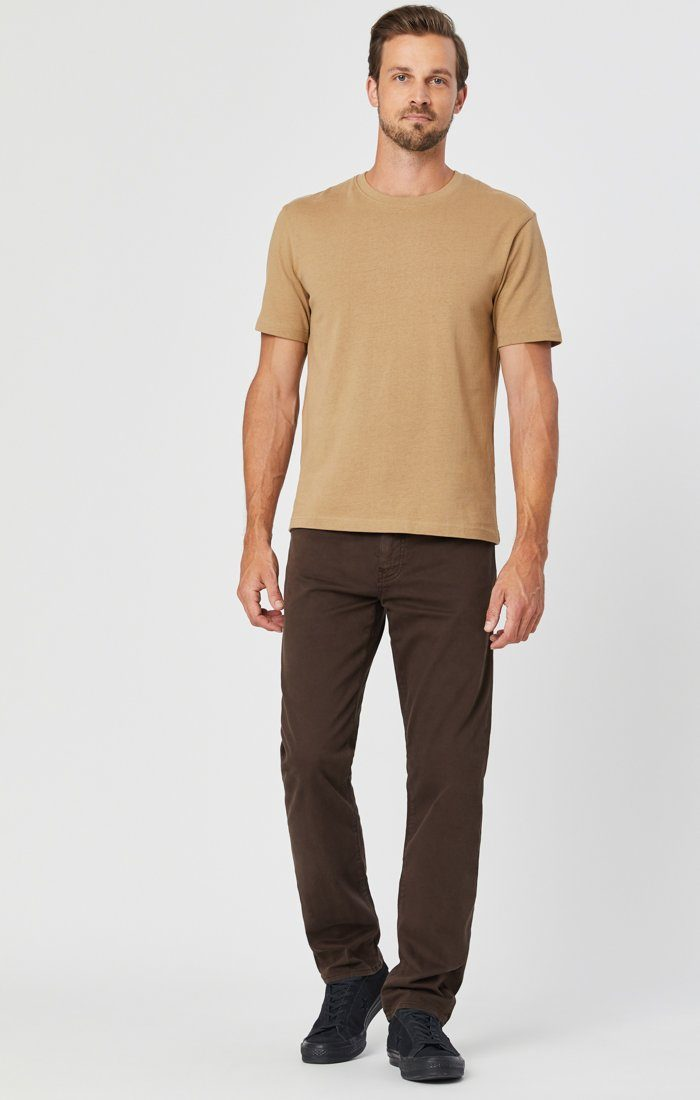 ZACH STRAIGHT LEG IN COFFEE BEAN TWILL Image 1