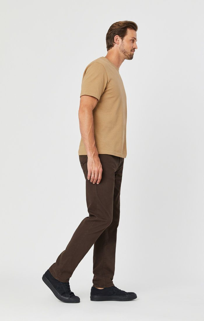 ZACH STRAIGHT LEG IN COFFEE BEAN TWILL Image 3