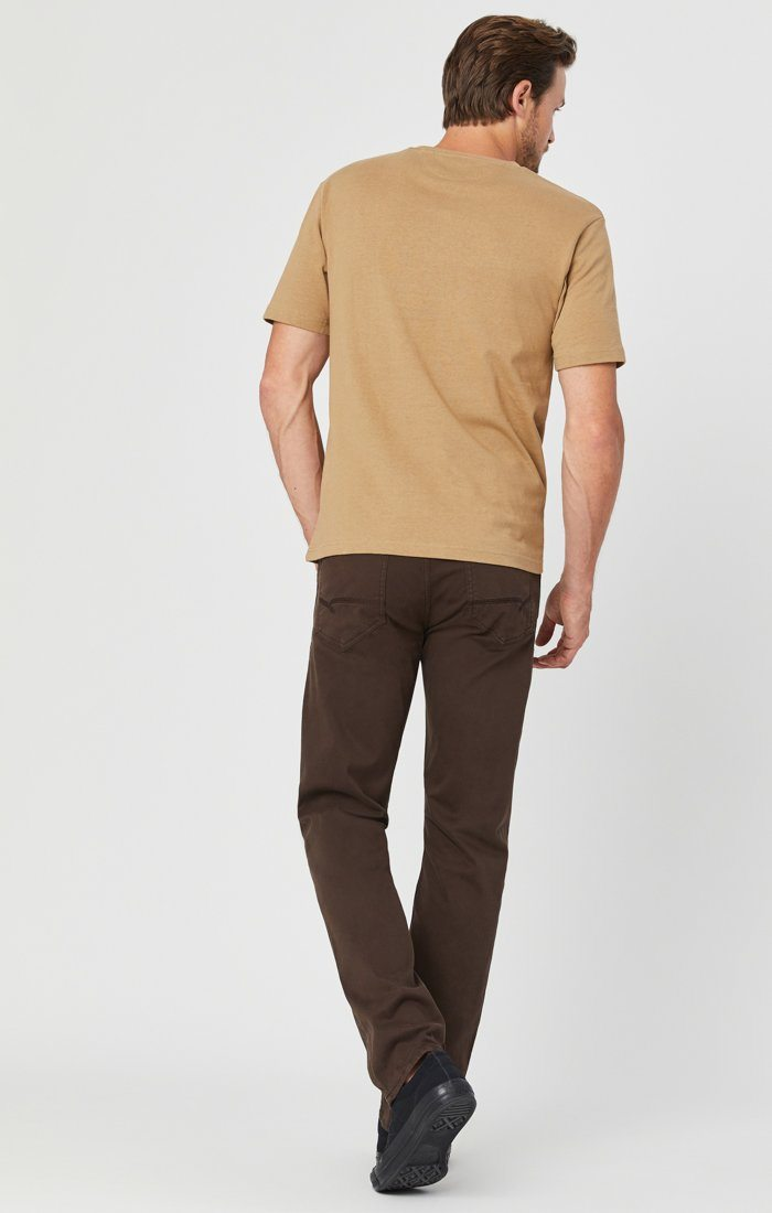ZACH STRAIGHT LEG IN COFFEE BEAN TWILL Image 4
