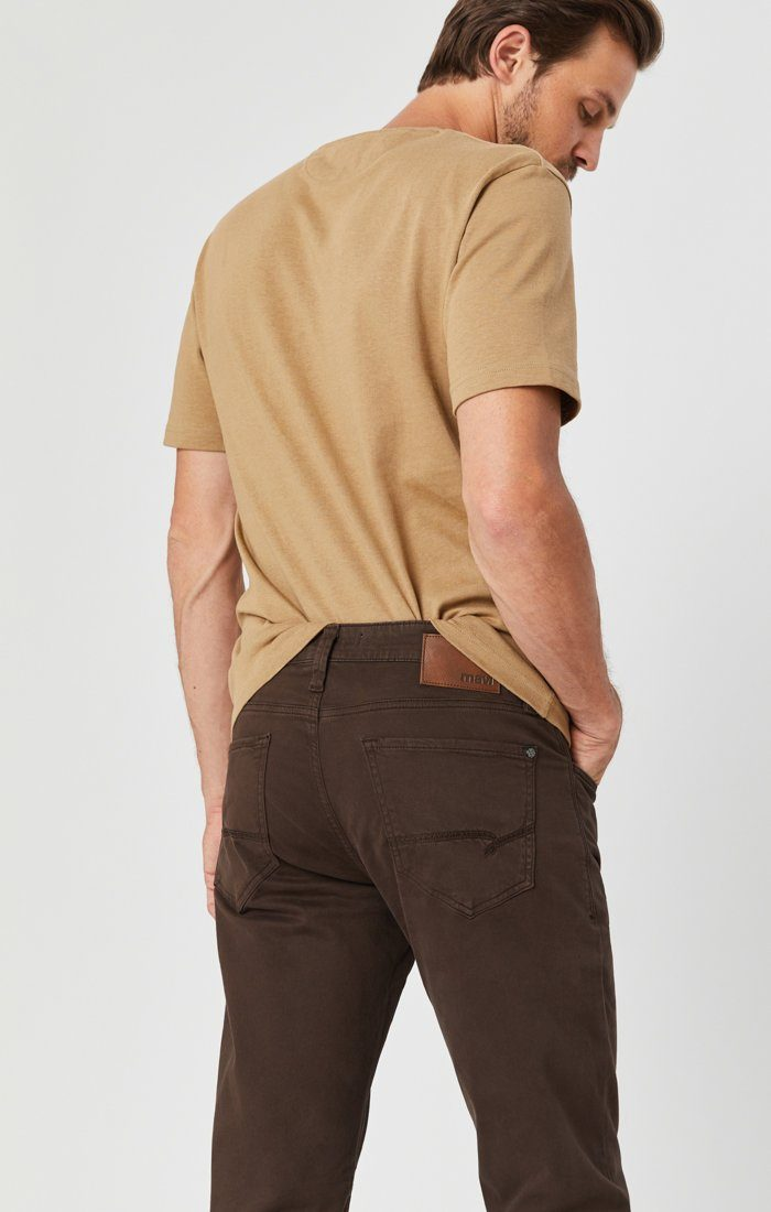 ZACH STRAIGHT LEG IN COFFEE BEAN TWILL Image 5