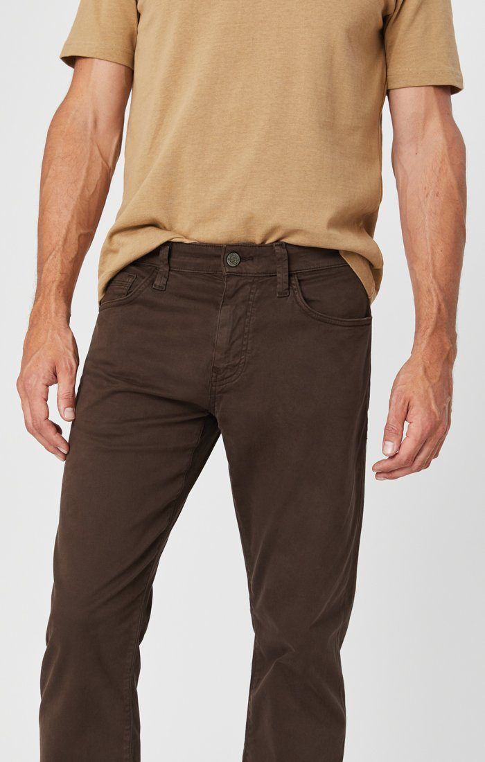 ZACH STRAIGHT LEG IN COFFEE BEAN TWILL Image 2
