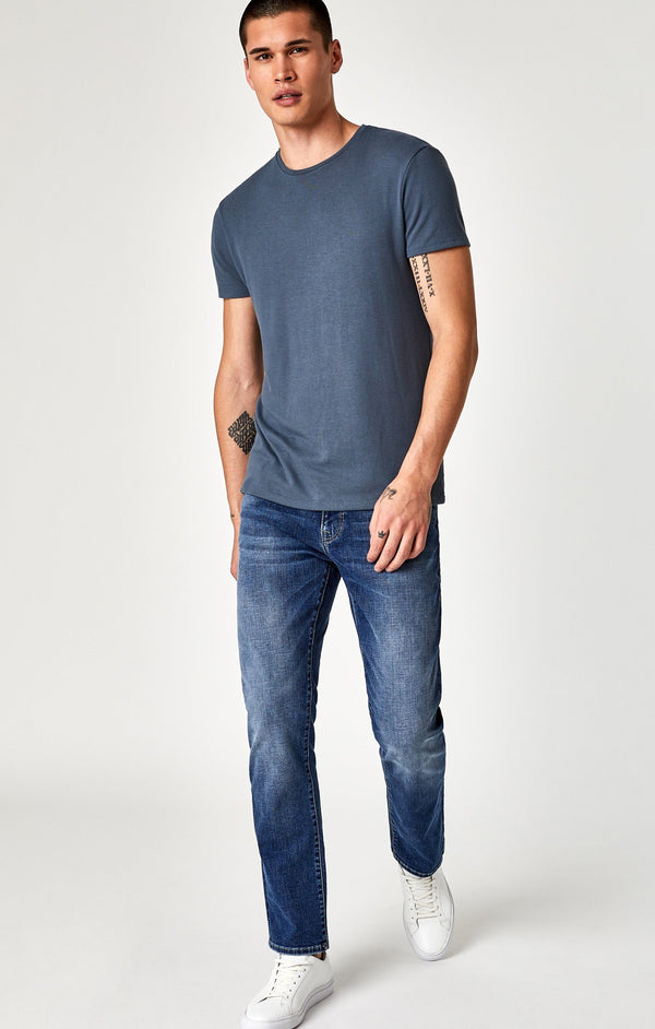 ZACH STRAIGHT LEG IN DEEP CASHMERE - Mavi Jeans
