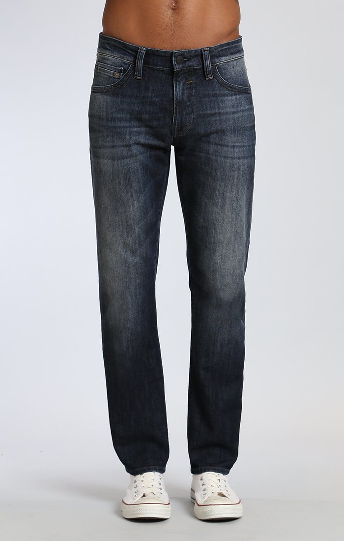 ZACH STRAIGHT LEG IN DEEP SHADED NEW YORK - Mavi Jeans